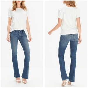 Mother | Runaway Fray Flare Jeans